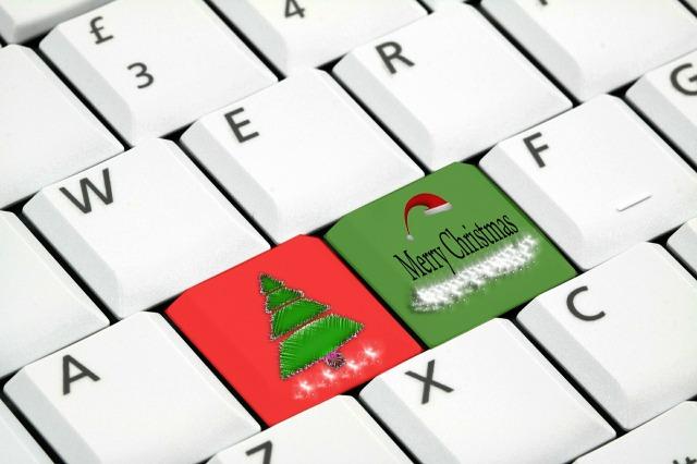 keyboard Christmas