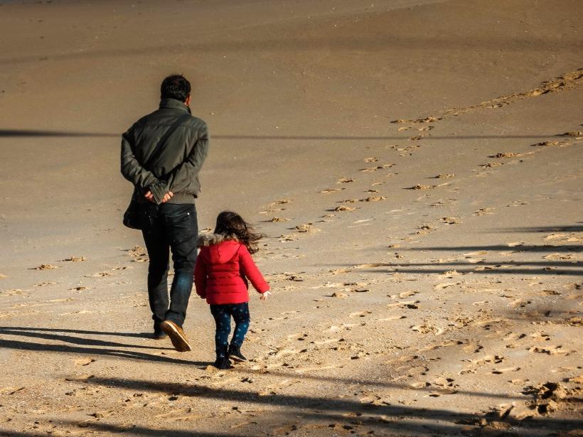 beach daughter