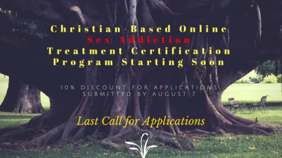 Christian-based sex addiction certification program starting soon